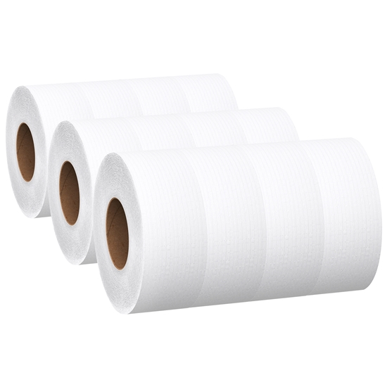 "Picture of AFFEX JRT Tissue, Recycled 9""Dia, 2-Ply,  12 rolls/cs"