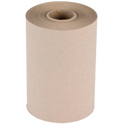 Picture of AFFEX Brown Hardwound Towel Roll, 12 rolls x 350'