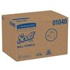 Scott Essential, hard Roll Paper Towels, White