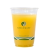 Picture of Greenware Cold Drink Cups, 16oz, Clear, 50/sleeve, 20 Sleeves/carton