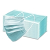 Picture of Face Mask Covering, Disposable , 3-Ply, Level 1, 50 EA/PK, 40 PK/CS