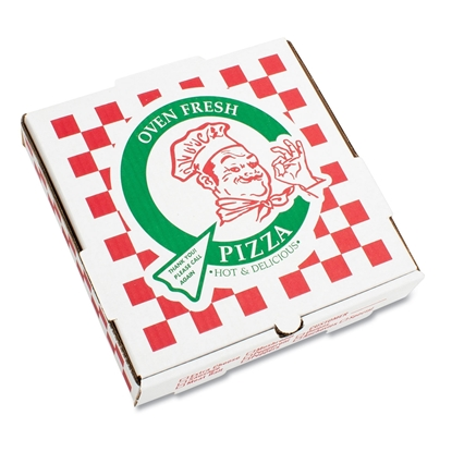 Takeout Containers, 10in Pizza, White