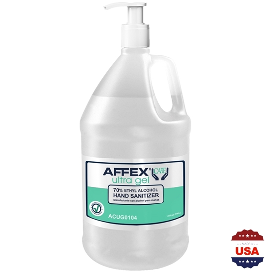 AFFEX Care, ULTRA GEL, Sanitizer, 70% Ethyl Alcohol w/ Pump