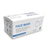 Face Mask Covering, Disposable , 3-Ply, Level 1