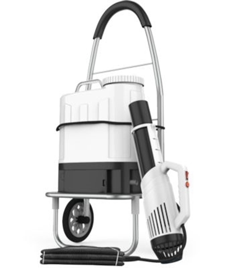 Picture of Electrostatic Backpack Sprayer w/Cart & Extended 8' Hose, Lux